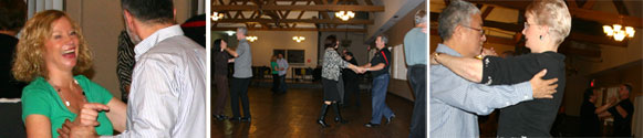 Ballroom dance group class in Wood Dale, IL.