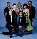 Vito Magrone with one of his professional ballroom dance companies.