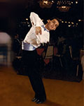 Vito Magrone at a ballroom dance competition.